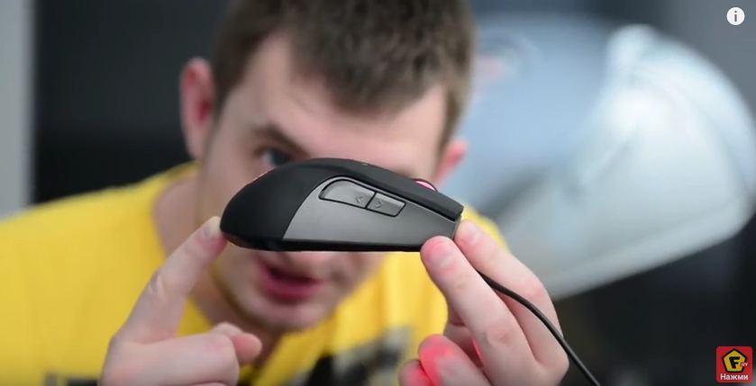 Видеообзор игровой мыши Cooler Master SGM-4001-KLLW1