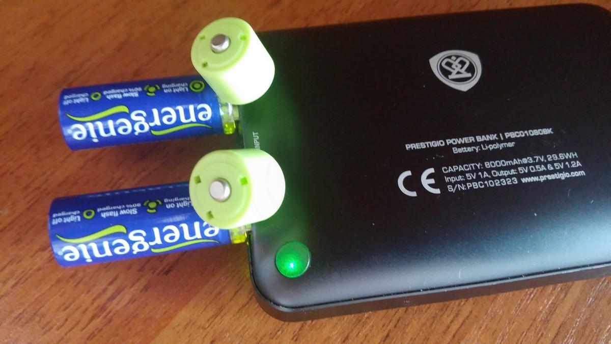 Аккумуляторы Energenie способны заменить пальчиковые батарейки