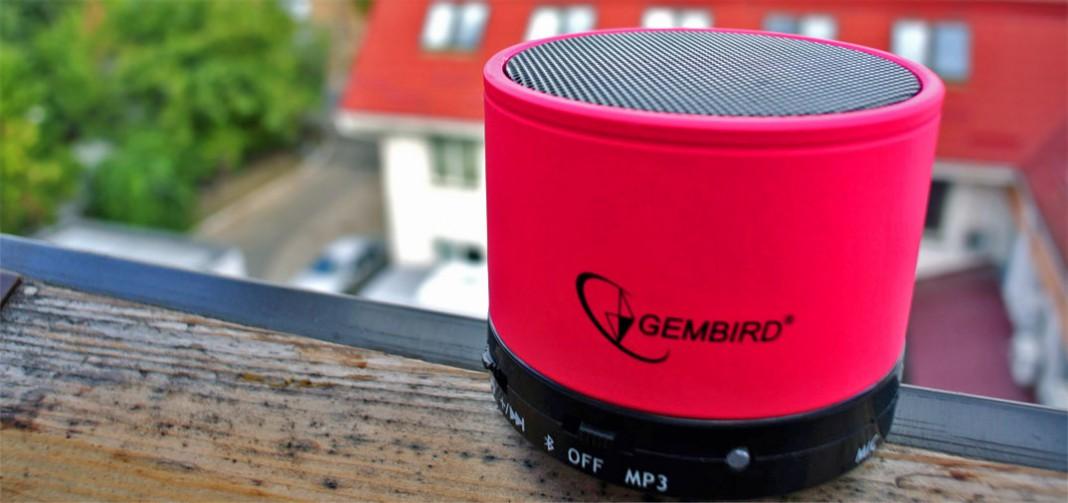 Gembird SPK-BT-03 – обзор миниатюрной, но гордой Bluetooth-колонки