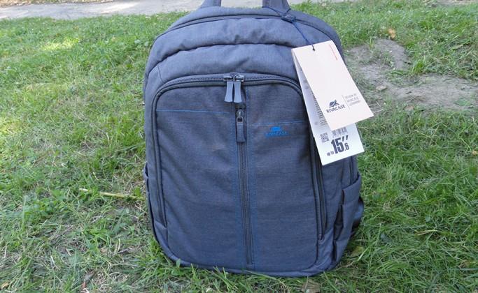 RIVACASE 7560 — обзор рюкзака для 15,6″ ноутбука