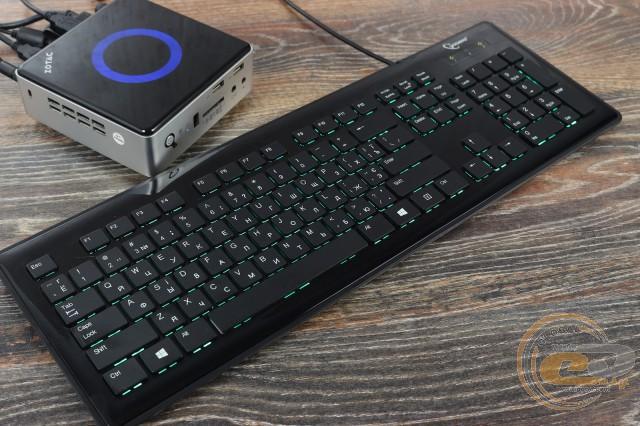 Обзор и тестирование клавиатуры Gembird KB-6250LU-BL-RUA