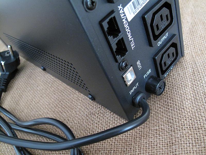 Бесперебойник с USB-интерфейсом