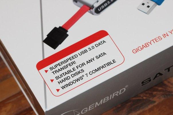 Cablexpert AUS03: вместо кармана для HDD