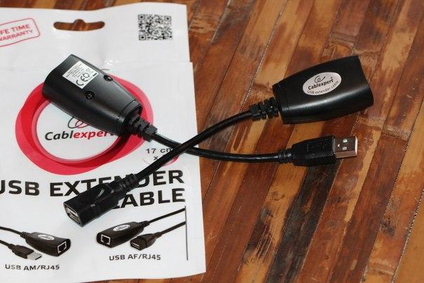 Cablexpert UAE-30M: подключаемся к удаленному USB-порту по витой паре