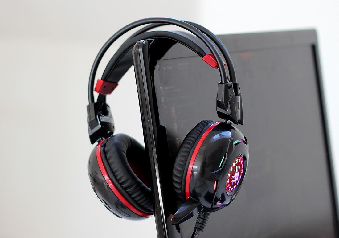 Свет и басы: обзор игровой гарнитуры A4Tech Bloody G300