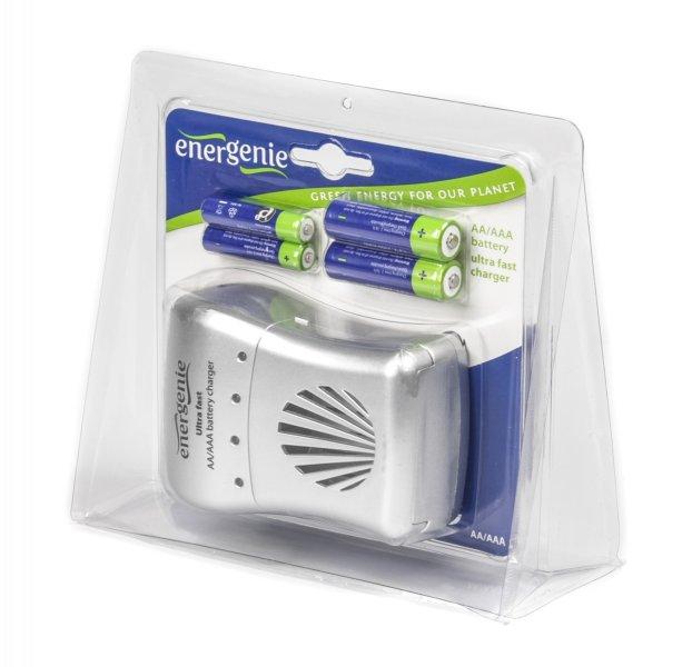 EnerGenie EG-BC-003: быстрая зарядка и пальчиковые аккумуляторы