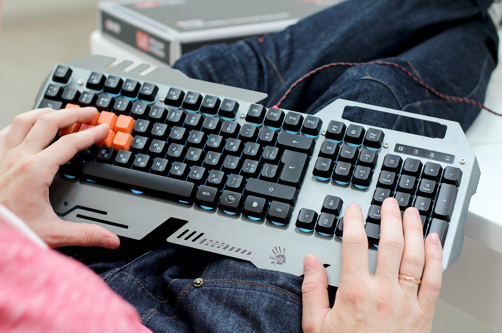 Стальная оболочка: обзор игровой клавиатуры A4Tech Bloody B418