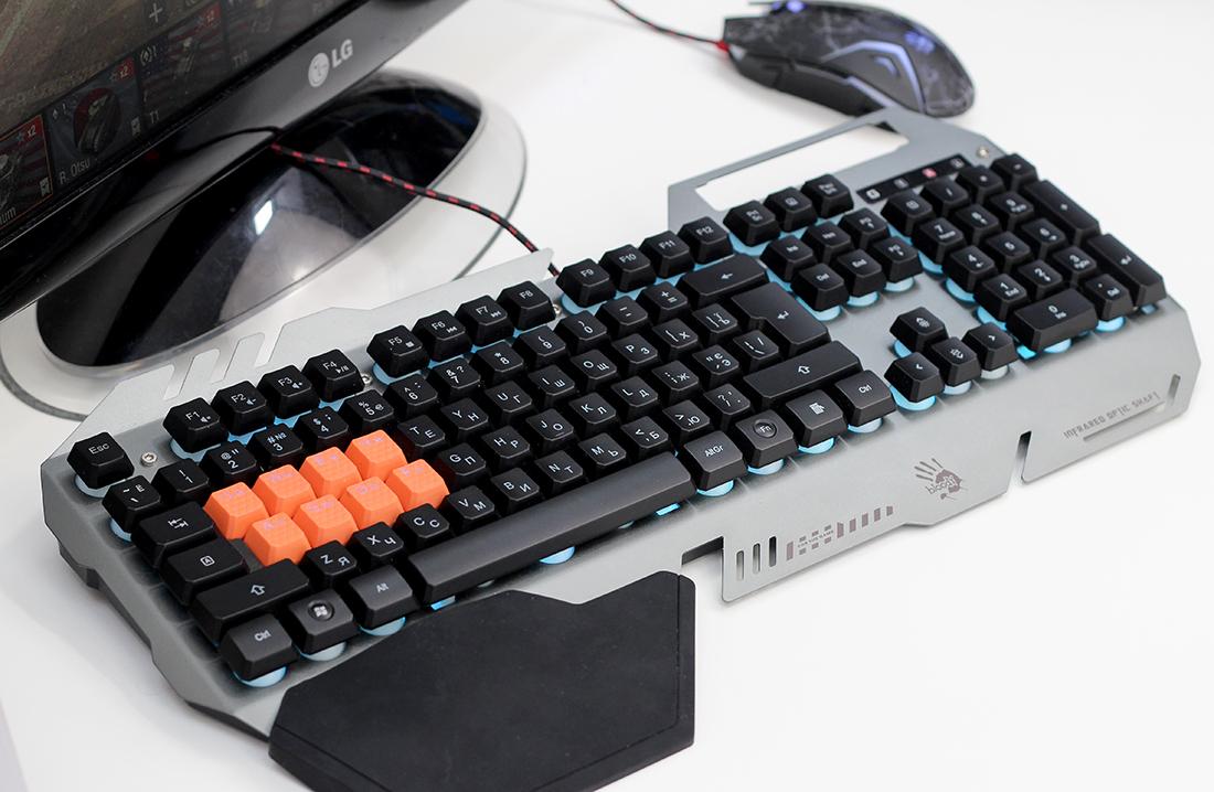 A4Tech Bloody B418 – ВидеоОбзор игровой клавиатуры