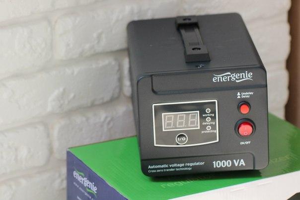 Обзор регулятора и стабилизатора EnerGenie EG-AVR-D1000-01
