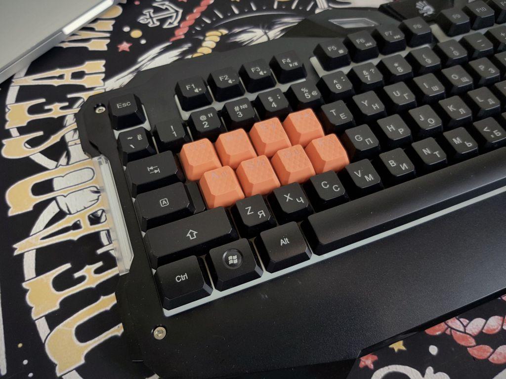 Шпилим доступно: обзор клавиатуры A4TECH Bloody B328