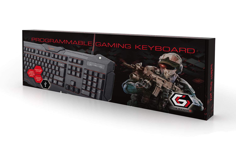 Gembird KB-UMGL-01 – недорогая игровая клавиатура с хорошими возможностями