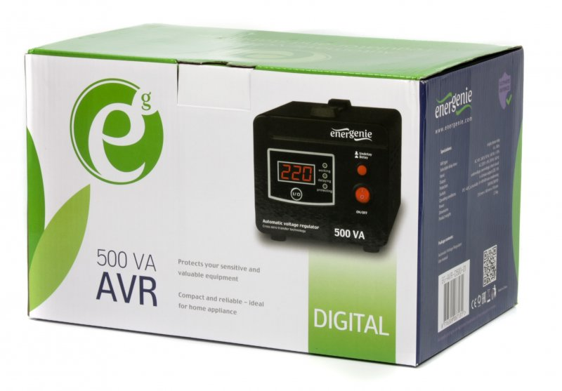 EnerGenie EG-AVR-D500-01: защитит вашу технику от скачков в электросети