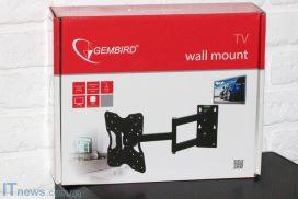 Gembird WM-32RT-01: мощный кронштейн с хорошими возможностями