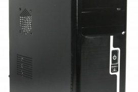 Maxxter CCC-D1-01 – недорогой эргономичный корпус для сборки домашнего или офисного ПК