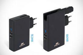 Аккумуляторы со встроенными зарядными устройствами RivaCase