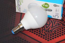 Обзор LED-лампочки EnerGenie EG-LED5W-E14K30-12