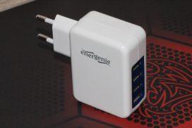 Краткое знакомство с сетевым зарядным устройством EnerGenie EG-U4AC-01