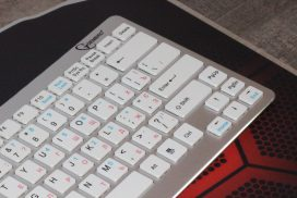 Компактная беспроводная клавиатура Gembird KB-6411BT-UA