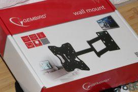 Gembird WM-32RT-01: недорогой кронштейн с хорошим поворотом/наклоном и возможностью крепить TV до 20 кг