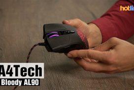 A4Tech Bloody AL90 — видео обзор игровой мыши