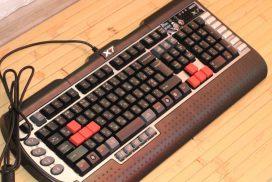 Огляд ігрової клавіатури A4Tech X7-G800V