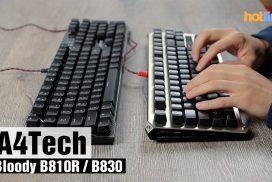 A4Tech Bloody B810R и B830 — обзор механических клавиатур
