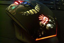 Гаджет: беспроводная игровая мышь A4 Tech R80 Bloody (Skull)