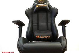 Мы сидели и играли: обзор кресла Cougar Armor Black