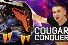 COUGAR Conquer – крутейший корпус ПК открытого типа