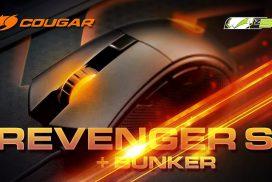 Cougar Revenger S – почти СОВЕРШЕННАЯ игровая мышь! + Держатель Cougar Bunker!