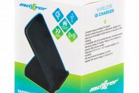 Новинки. Беспроводные зарядные устройства QI от Maxxter.