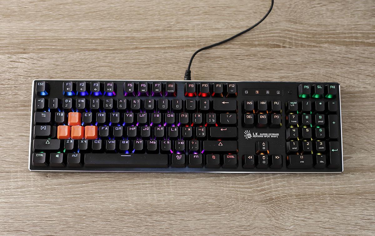 Клавиатуры с rgb подсветкой