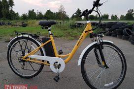 Электро-променад с велосипедом Maxxter City
