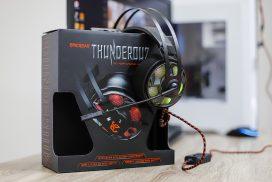 Обзор EgicGear ThunderouZ: эффектная гарнитура для игр и музыки