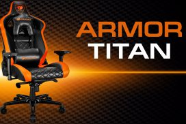 COUGAR ARMOR TITAN – Твой идеальный игровой трон!