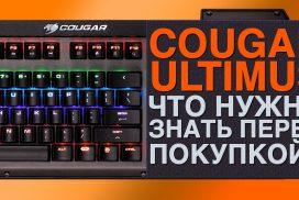 Клавиатура Cougar Ultimus. Что нужно знать перед покупкой?