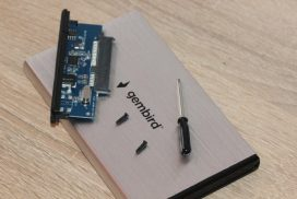 Gembird EE2-U3S-3-S – недорогой карман для сборки внешнего накопителя!